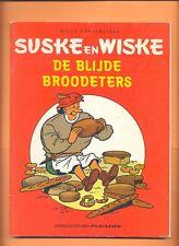 SUSKE EN WISKE : DE BLIJDE BROOD ETERS :  PURATOS 1° DRUK 1982 : (  )