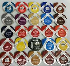 25 x Tassimo Variedad De Muestras Café Negro T-DISC Sabores Surtidos no Tea & Choco