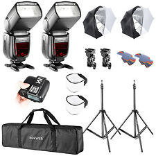 Neewer 2 Set Camera Studio TTL Flash and Umbrella Lighting Kit for Sony DSLR