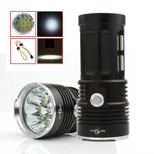 22000LM SKYRAY 9 x CREE XM-L T6 LED 3-Mode Flashlight Lamp Torch US SHIPPING