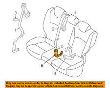 Infiniti NISSAN OEM 08-12 EX35 Rear Seat Belts-Buckle Right 888421BA0C