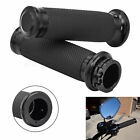 """1"""" Black Handle Bar Hand Grips Fit for Harley Touring Sportster XL883 1200 Dyna"""