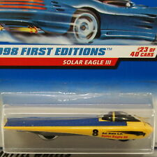 HOT WHEELS 1998 First Editions SOLAR EAGLE lll - #650 - Next Day BOX Shipping