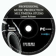 Pro Music Production Studio Multitrack-Bearbeitung Recording Mixing Software PC CD
