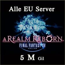 FINAL FANTASY XIV 5000000 Gil FF14 5 Million FFXIV Chaos PC PS3 PS4 (10 15 20)