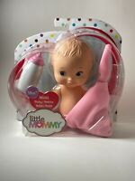 Fisher Price Little Mommy Mini Baby Doll With Pink Blanket FLB36 NEW