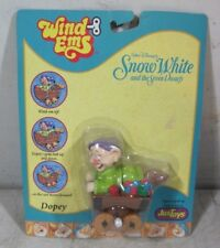Vintage Disney Just Toys Dopey Wind Ems Wind Up Toy NOS Snow White