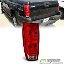 2002-2006 Chevy Avalanche Tail Lights Brake Lamps Left Driver Side Replacement