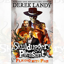 Playing with Fire Skulduggery Pleasant Book By Derek Landy