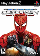 Spider-Man: Web of Shadows PS2, New Playstation 2