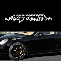 1pc JDM White Need For Speed Scratch Car Auto Windshield Decal Vinyl Sticker