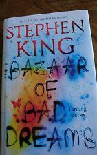 Stephen King - Bazaar of Bad Dreams. 1st UK edition 2015