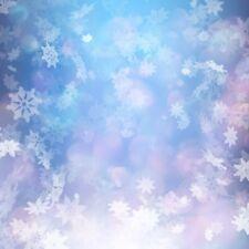 8x8ft Vinyl Props Background Photo Studio Backdrops Snowflake Christmas Scene
