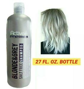 ACTIVEE BLONDE & GREY HAIR SALT FREE HYDRATION & DEEP PROTECTION SHAMPOO 27 FLoz