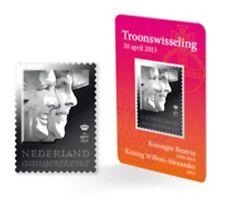 Nederland 2013 koningin Beatrix-Koning Willem Alexander zilveren zegel  postfris