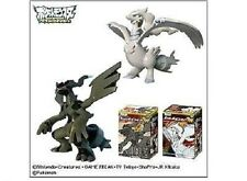 "Pokemon Black & White Zekrom Reshiram 4"" PVC figure set"