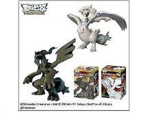 "Pokemon Black & White Zekrom Reshiram 4"" PVC figure set"