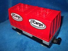 LEGO DUPLO EISENBAHN CARGO Waggon aus 3326 INTELLI mit Batteriefach