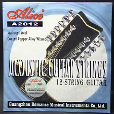 Alice A2012 12-String Acoustic Guitar Strings 1st-12th Strings