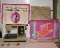 New Children's Sewing Machine Juanita PIKO Original packaging GDR 1970-1980