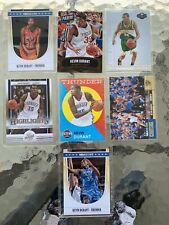 KEVIN DURANT 7Card 7 Basketball Lot NBA THUNDER WARRIORS