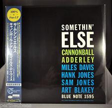 Cannonball ADDERLEY Somethin' Else 100% JAPAN Colorless 180G Vinyl LP UCJU-90008