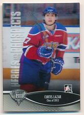 CURTIS LAZAR 2012/13 ITG HEROES AND PROSPECTS #14 RC ROOKIE SP MINT