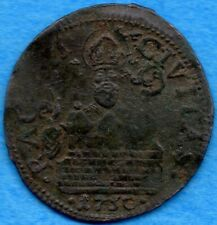 Ragusa 1750 AE Soldo Coin KM #6 - Very Fine For Type