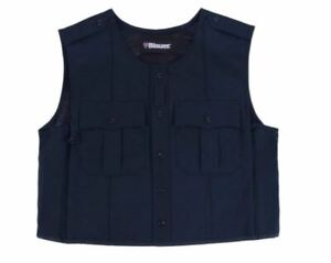 NEW BLAUER 8370 POLYESTER ARMORSKIN VEST OUTER ARMOR CARRIER DARK NAVY ALL SIZES