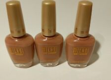 Milani nail lacquer 21A natural touch new ,lot of 3