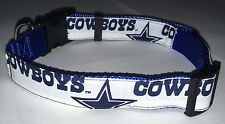 Dallas Cowboys COLLAR Dog Large Big Pet Pro Football Team Fan Game Gear NFL TX L