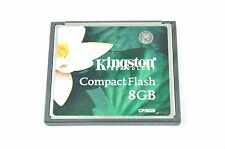 Kingston Compact Flash CF Memory Card 8GB For Professional Camera DH5072