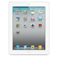 Apple iPad 2 - 16GB - Wi-Fi, 9.7in White - Very Good Condition