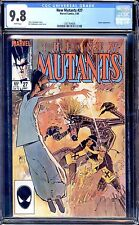 NEW MUTANTS #27 CGC 9.8 WHITE PAGES