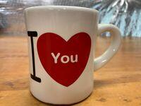 Hallmark I ❤ You Coffee Mug Cup I Love You I Heart You