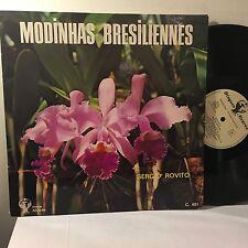 SERGIO ROVITO Modinhas Bresiliennes LP Disques Alavares France /brasil brazil EX