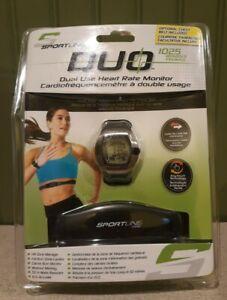 SportLine Duo 1025 Women's Dual Use Heart Rate Monitor Watch