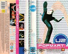 U2 Pop Mart Live From Mexico City Video UK VVL 1998 24 Track PAL Format VHS