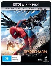 Spider-Man: Homecoming  (4K Ultra HD + Blu-ray + UV) Region B *BRAND NEW/SEALED*
