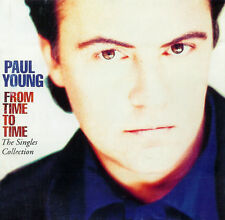 Paul Young ‎CD From Time To Time (The Singles Collection) - Europe (M/EX+)