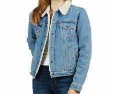 Levis Women's Light Sherpa Denim Jacket 36136-0000 Size M~NWT