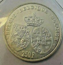 ==>>  250 Francs Frank 1995 KM#199 Belgique Belgïe Astrid Belgium LA#BFM-208