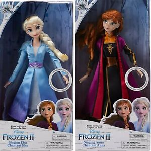 Disney store Frozen 2 singende Anna und singende Elsa Puppe