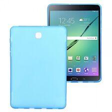 Funda protectora TPU de silicona para muchos tableta modelo cubierta carcasa Samsung Galaxy Tab S2 8.0 SM T710 T715 T715n azul