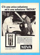 QUATTROR963-PUBBLICITA'/ADVERTISING-1963- NOVA WERKE ZURICH