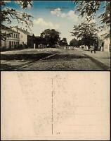 Ansichtskarte Schmergow (Mittelmark) Straße b. Werder Brandenburg 1915