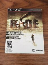 Factory Sealed Rage Anarchy Edition PS3 w/ Slip Cover NTSC-U/C Free Shipping