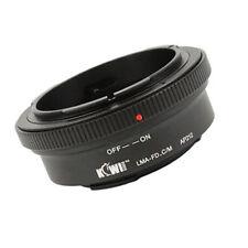 Adaptador encaja Canon FD-objetivamente en la Canon EOS M puerto EF-M
