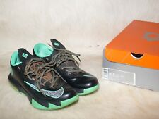 Nike KD VI Black/Metallic Clear-Light Lucid Green Night Vision Brazil KD 10.5 US