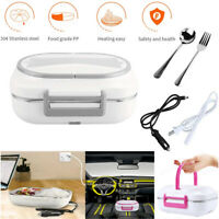 110V Portable Electric Heating Lunch Box Bento Heater Food Warmer Meal Container